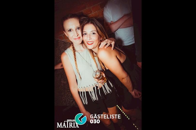 Partyfoto #30 Matrix Berlin vom 02.09.2016
