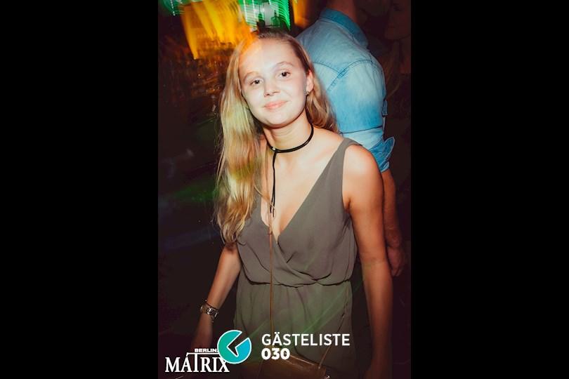 Partyfoto #87 Matrix Berlin vom 02.09.2016