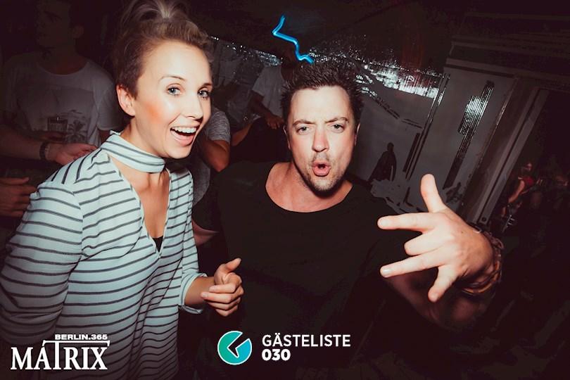 Partyfoto #115 Matrix Berlin vom 02.09.2016