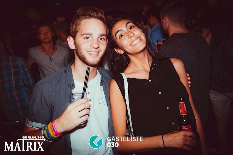 Partyfoto #109 Matrix Berlin vom 02.09.2016