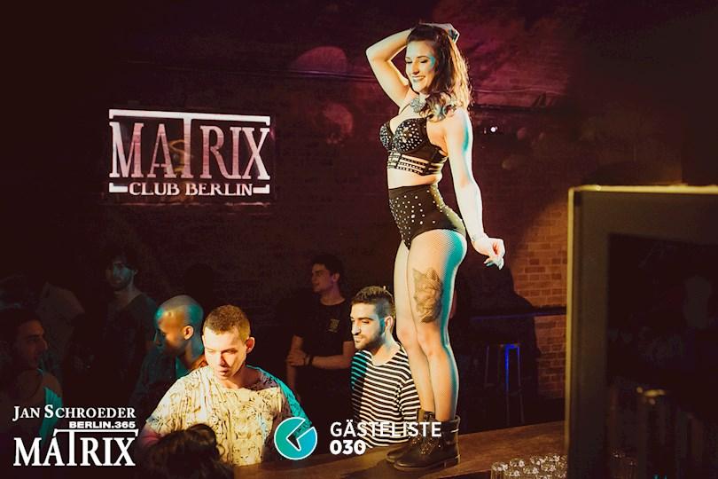 Partyfoto #47 Matrix Berlin vom 01.09.2016