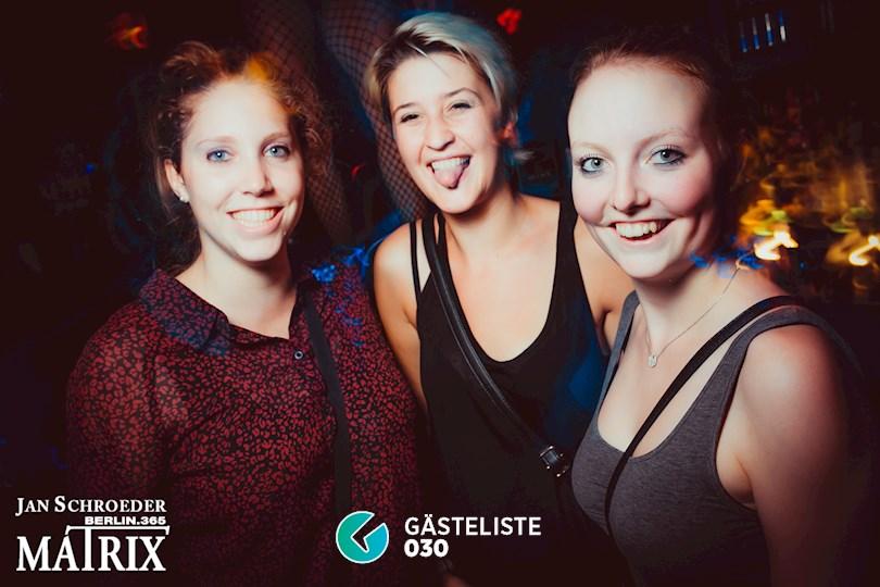 Partyfoto #111 Matrix Berlin vom 01.09.2016