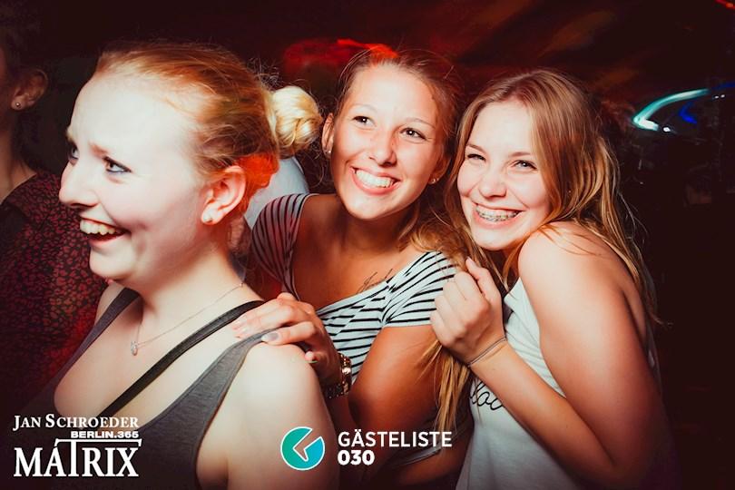 Partyfoto #64 Matrix Berlin vom 01.09.2016
