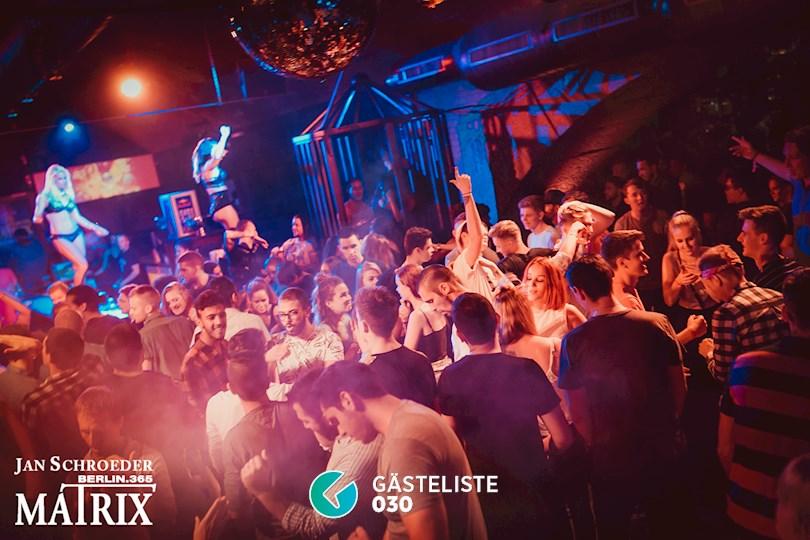 Partyfoto #46 Matrix Berlin vom 01.09.2016