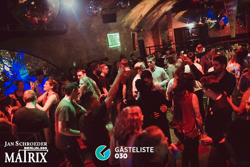 Partyfoto #133 Matrix Berlin vom 01.09.2016