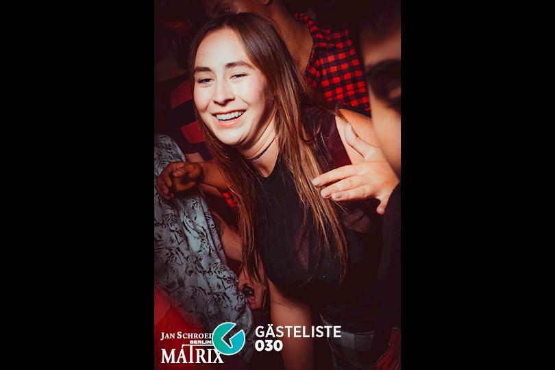 Partyfoto #166 Matrix Berlin vom 01.09.2016