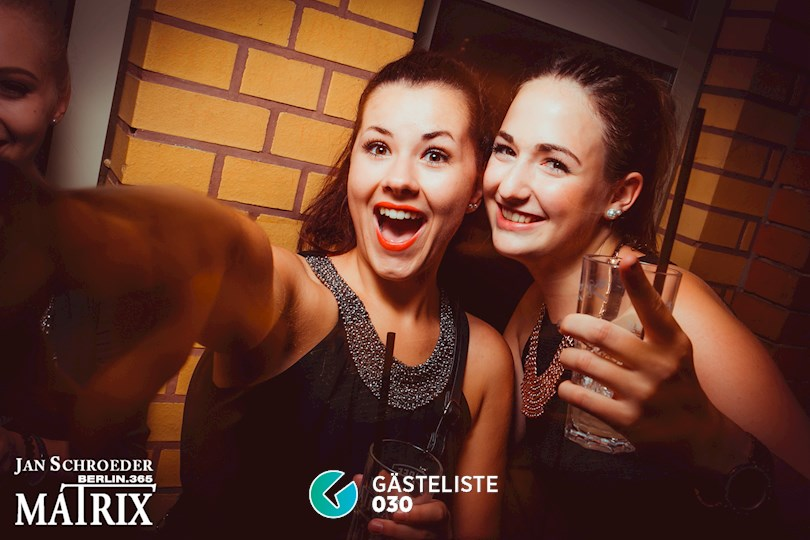 Partyfoto #54 Matrix Berlin vom 01.09.2016