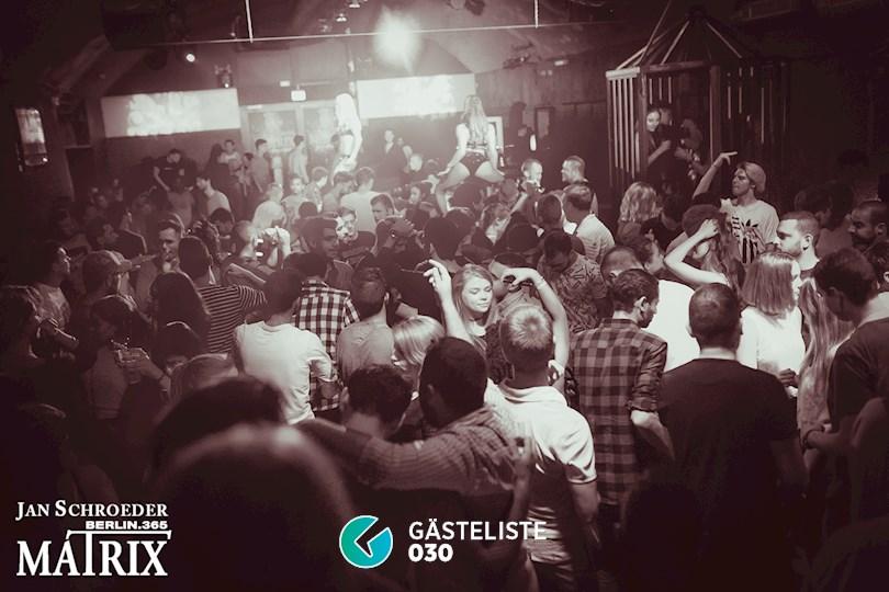 Partyfoto #175 Matrix Berlin vom 01.09.2016