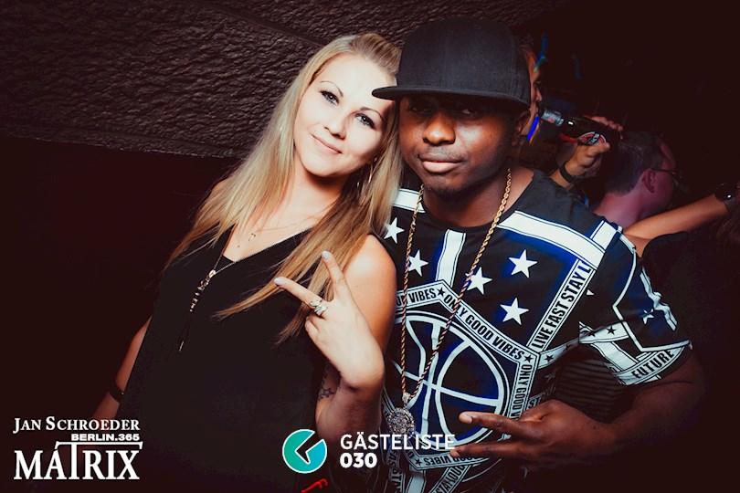Partyfoto #107 Matrix Berlin vom 05.09.2016