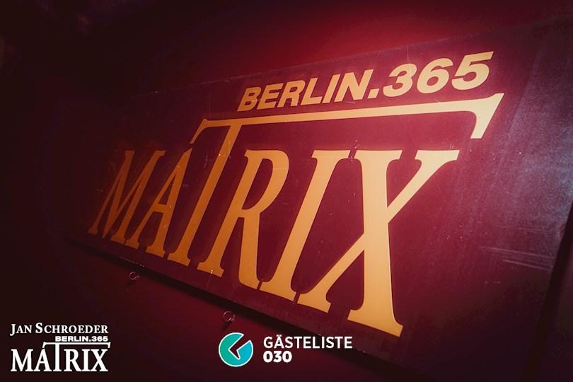 Partyfoto #35 Matrix Berlin vom 05.09.2016