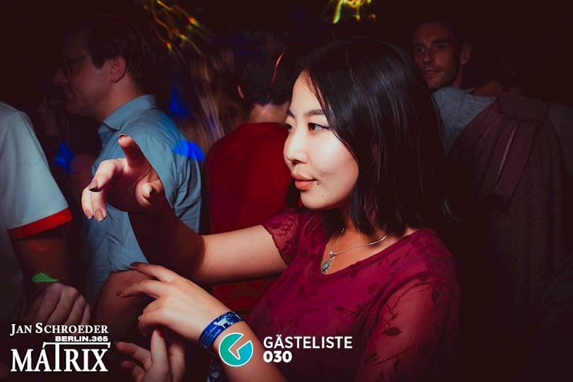 Partyfoto #105 Matrix Berlin vom 05.09.2016