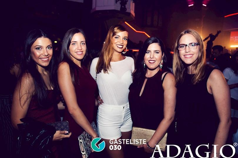 Partyfoto #17 Adagio Berlin vom 10.09.2016