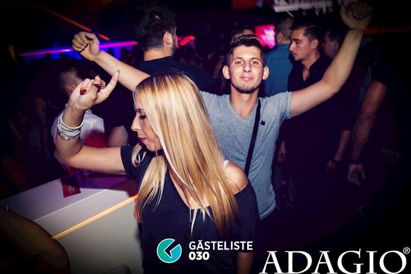 Partyfoto #18 Adagio Berlin vom 10.09.2016