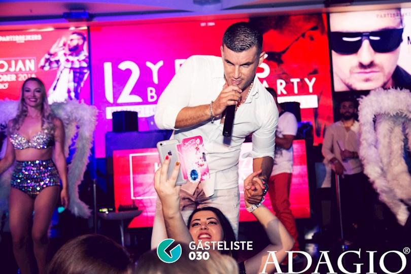 Partyfoto #46 Adagio Berlin vom 10.09.2016