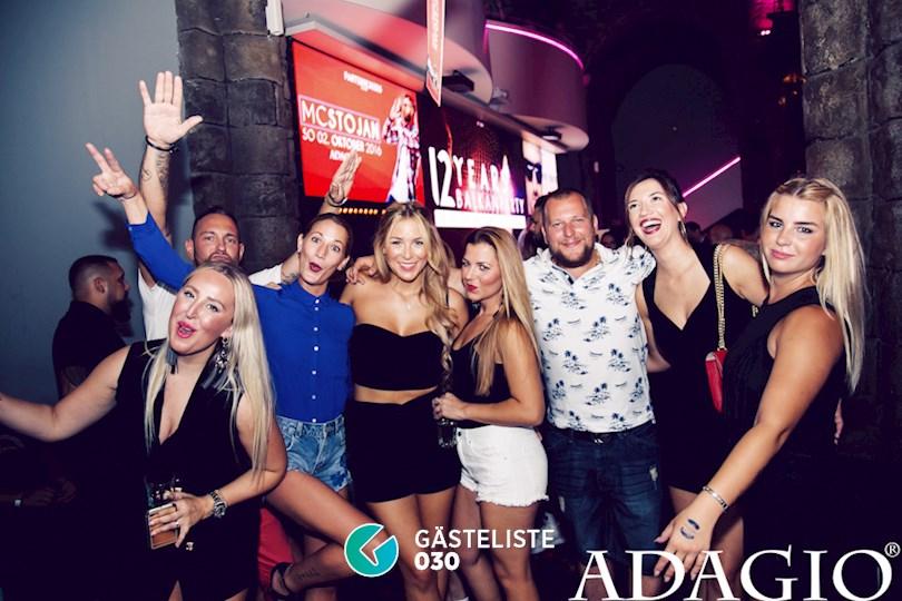 Partyfoto #59 Adagio Berlin vom 10.09.2016