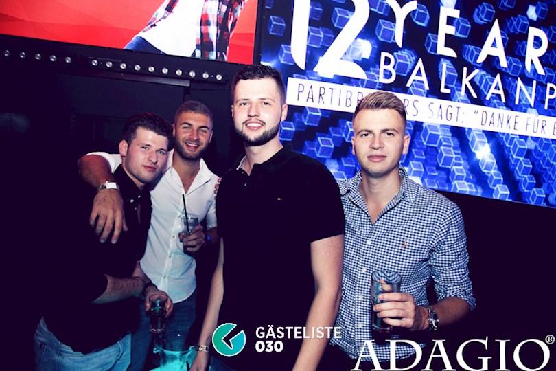 Partyfoto #23 Adagio Berlin vom 10.09.2016