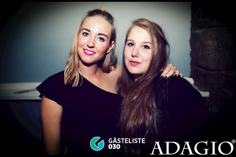 Partyfoto #6 Adagio Berlin vom 10.09.2016