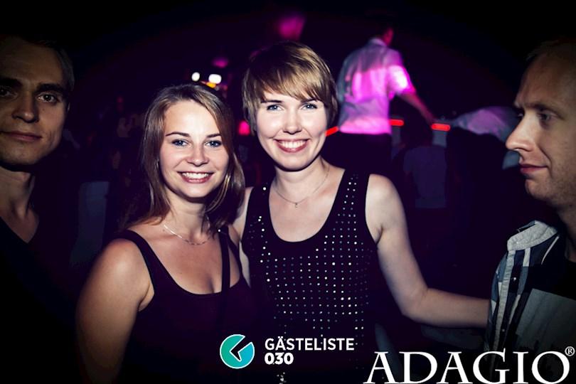 Partyfoto #5 Adagio Berlin vom 27.08.2016