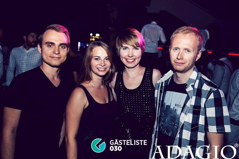 Partyfoto #42 Adagio Berlin vom 27.08.2016