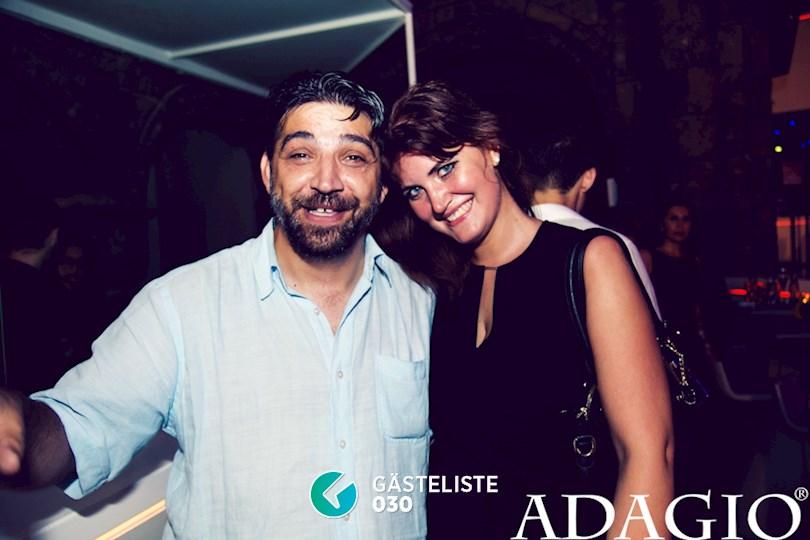 Partyfoto #47 Adagio Berlin vom 27.08.2016
