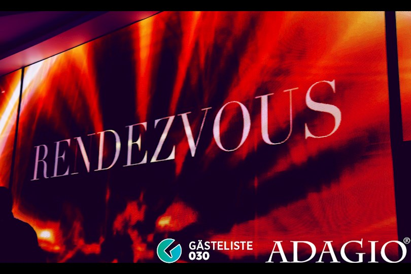Partyfoto #1 Adagio Berlin vom 27.08.2016