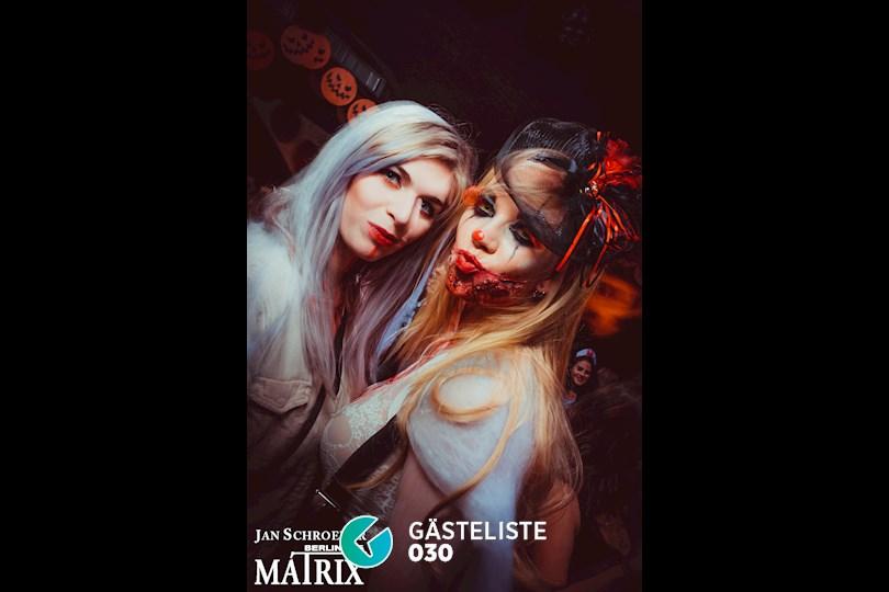 https://www.gaesteliste030.de/Partyfoto #29 Matrix Berlin vom 29.10.2016