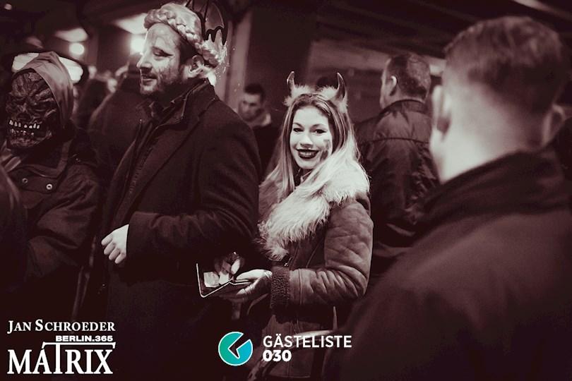 https://www.gaesteliste030.de/Partyfoto #296 Matrix Berlin vom 29.10.2016