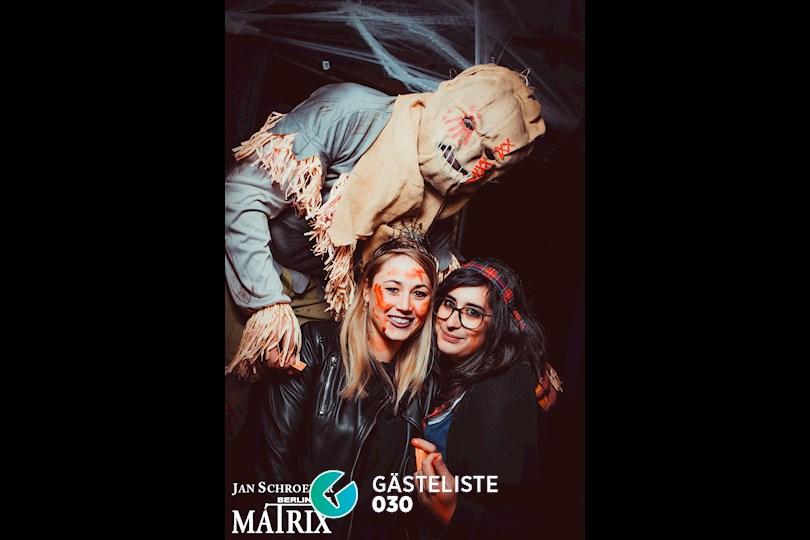 https://www.gaesteliste030.de/Partyfoto #146 Matrix Berlin vom 29.10.2016