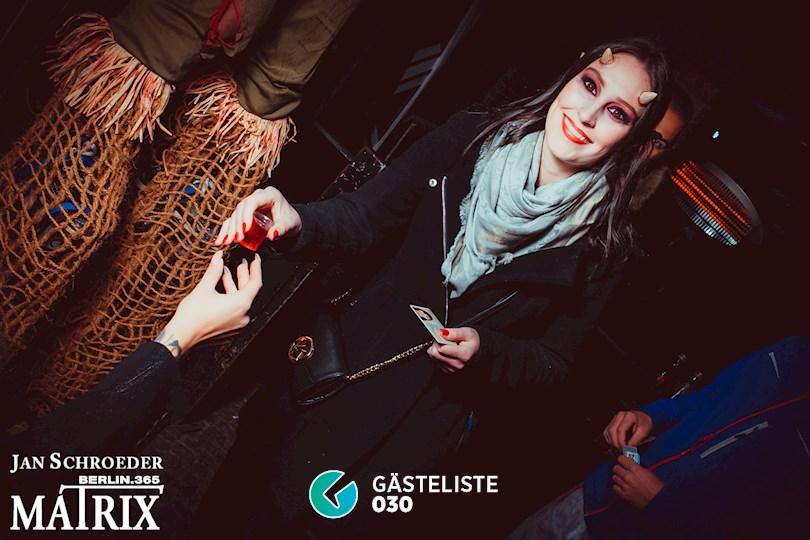 https://www.gaesteliste030.de/Partyfoto #314 Matrix Berlin vom 29.10.2016