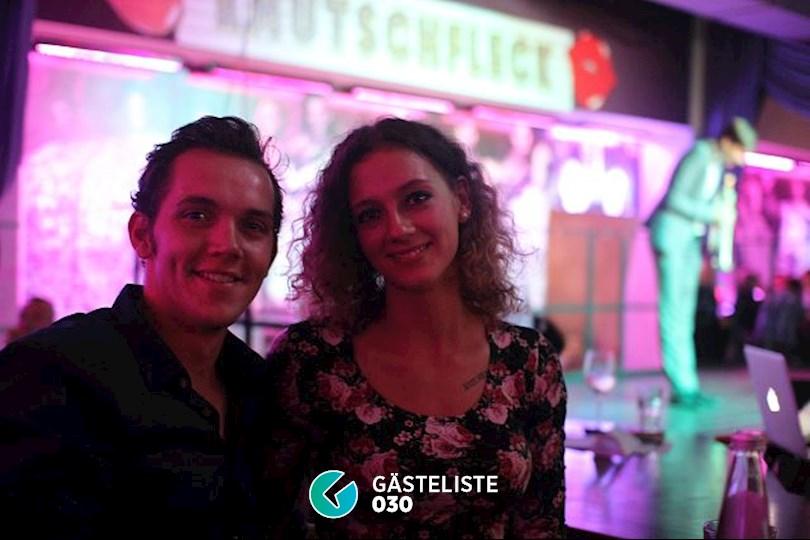 https://www.gaesteliste030.de/Partyfoto #28 Knutschfleck Berlin vom 22.10.2016