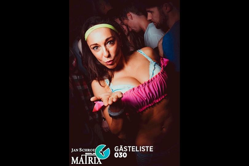 https://www.gaesteliste030.de/Partyfoto #16 Matrix Berlin vom 08.10.2016
