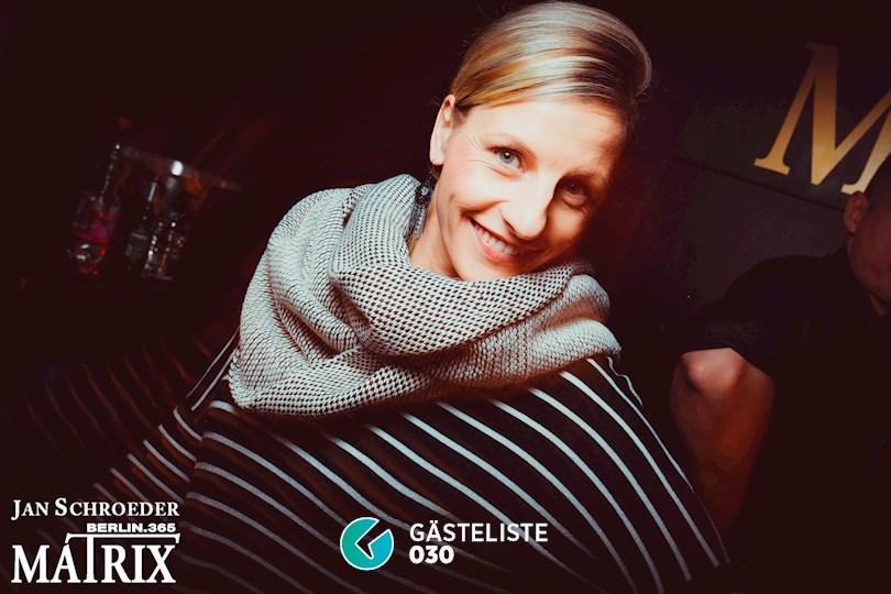 Partyfoto #65 Matrix Berlin vom 09.11.2016