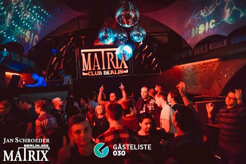 Partyfoto #107 Matrix Berlin vom 09.11.2016