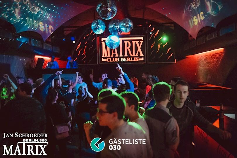 Partyfoto #83 Matrix Berlin vom 09.11.2016