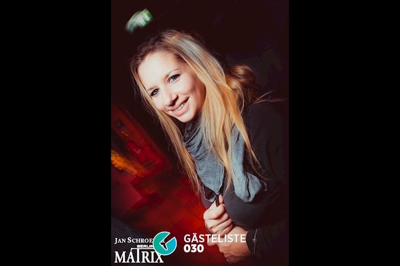 Partyfoto #85 Matrix Berlin vom 09.11.2016