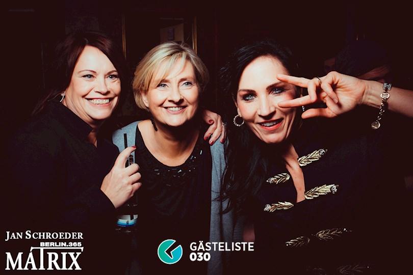 Partyfoto #208 Matrix Berlin vom 19.11.2016
