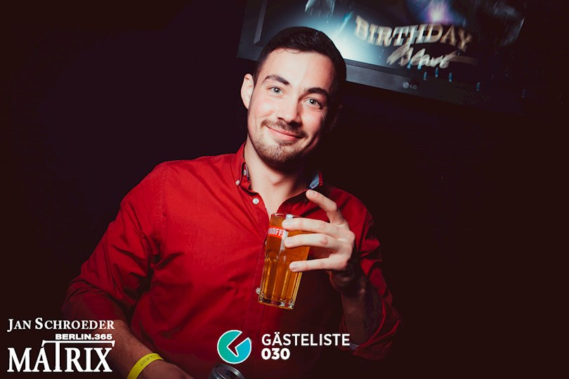 Partyfoto #278 Matrix Berlin vom 19.11.2016
