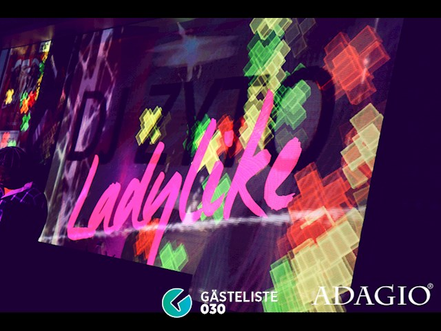 Partypics Adagio 16.12.2016 Ladylike! (we know what girls want)