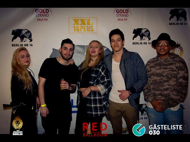 Partypics Red Ballroom 10.03.2017 Million Berlin presents Love The Goodlife