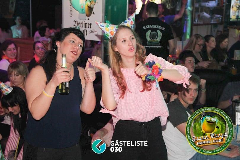 https://www.gaesteliste030.de/Partyfoto #77 Green Mango Berlin vom 25.03.2017