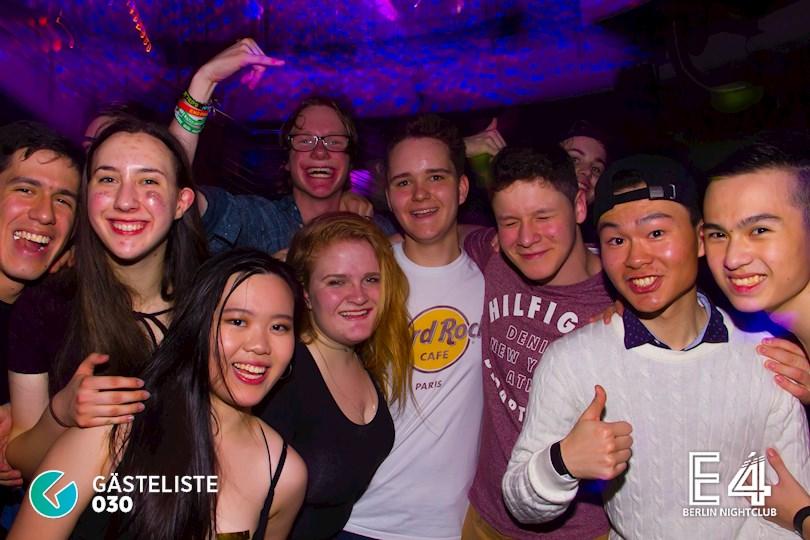 Partyfoto #3 E4 Berlin vom 10.03.2017