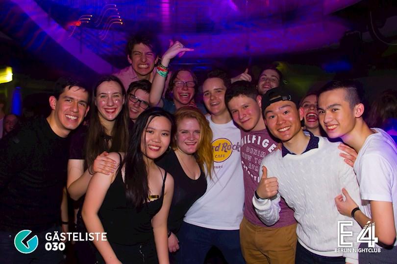 Partyfoto #28 E4 Berlin vom 10.03.2017