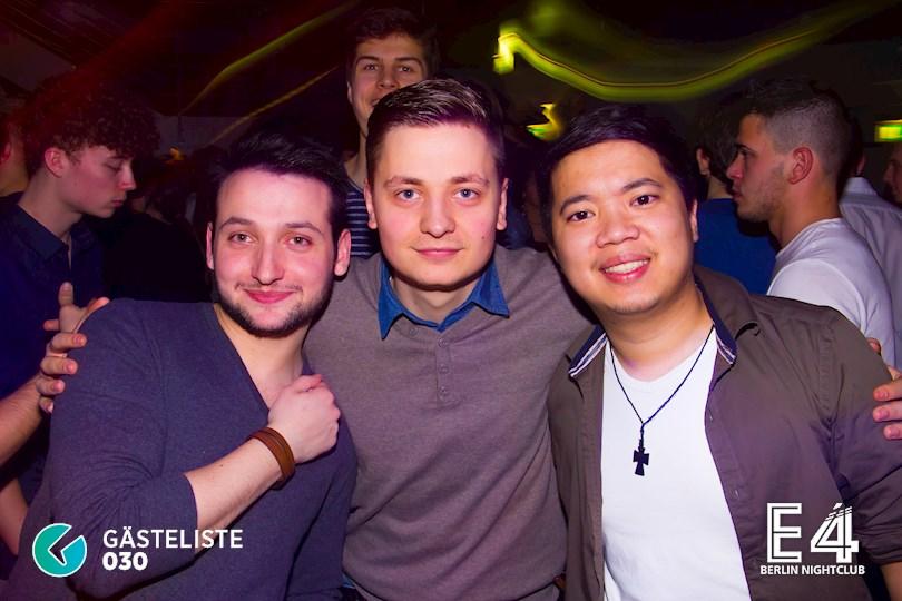 Partyfoto #40 E4 Berlin vom 10.03.2017