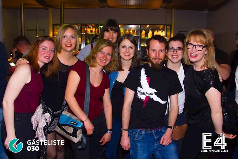 Partyfoto #60 E4 Berlin vom 10.03.2017