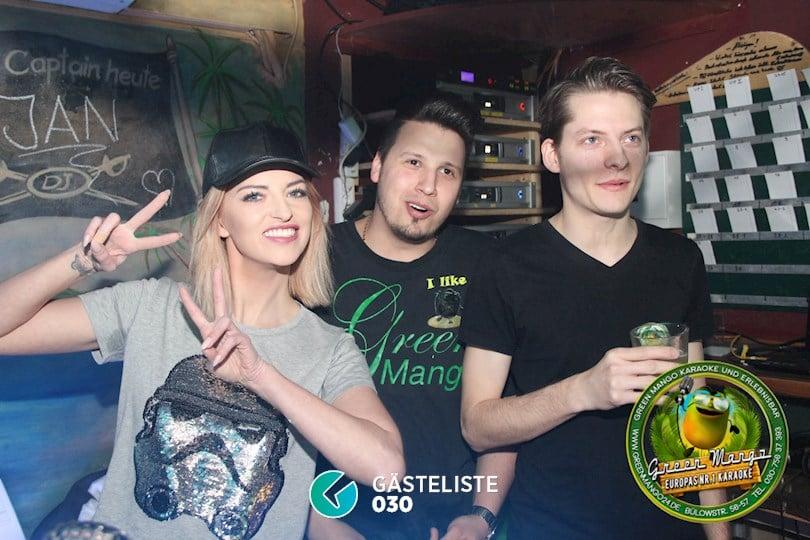 https://www.gaesteliste030.de/Partyfoto #5 Green Mango Berlin vom 08.04.2017