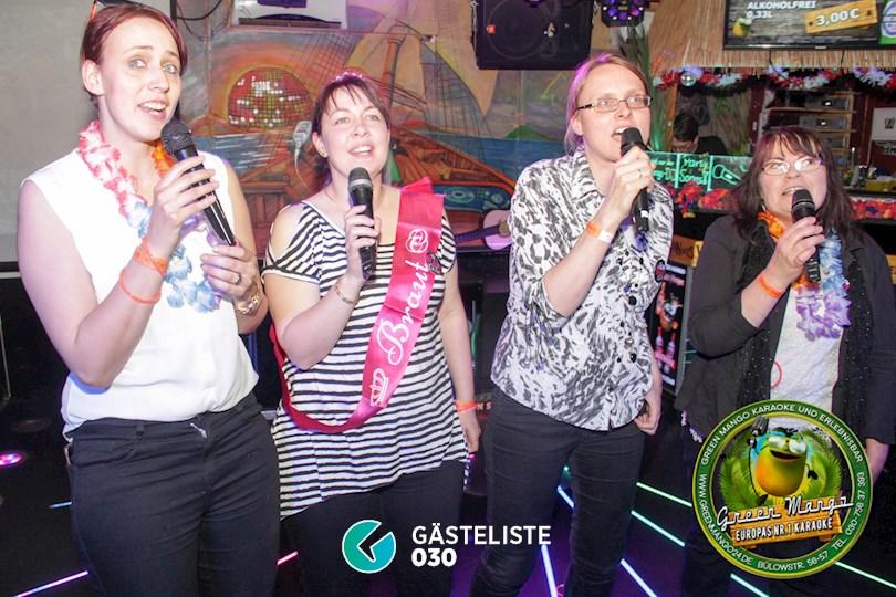 https://www.gaesteliste030.de/Partyfoto #136 Green Mango Berlin vom 20.05.2017