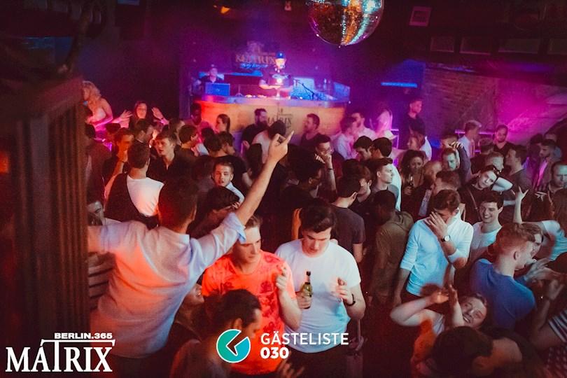 Partyfoto #95 Matrix Berlin vom 19.05.2018