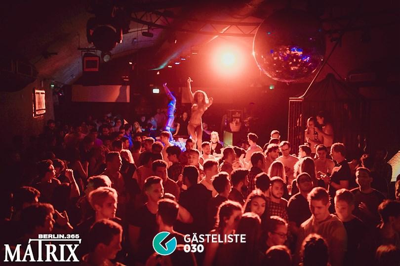 Partyfoto #1 Matrix Berlin vom 19.05.2018