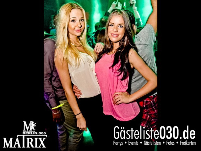 https://www.gaesteliste030.de/Partyfoto #67 Matrix Berlin vom 09.11.2012