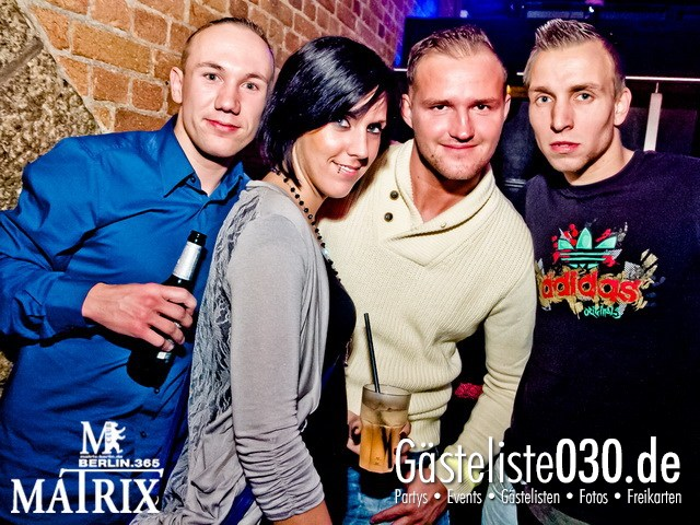 https://www.gaesteliste030.de/Partyfoto #89 Matrix Berlin vom 09.11.2012